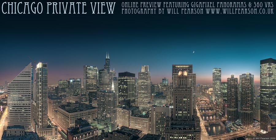 Chicago Cityscapes Private View Invitation © Will Pearson 2009