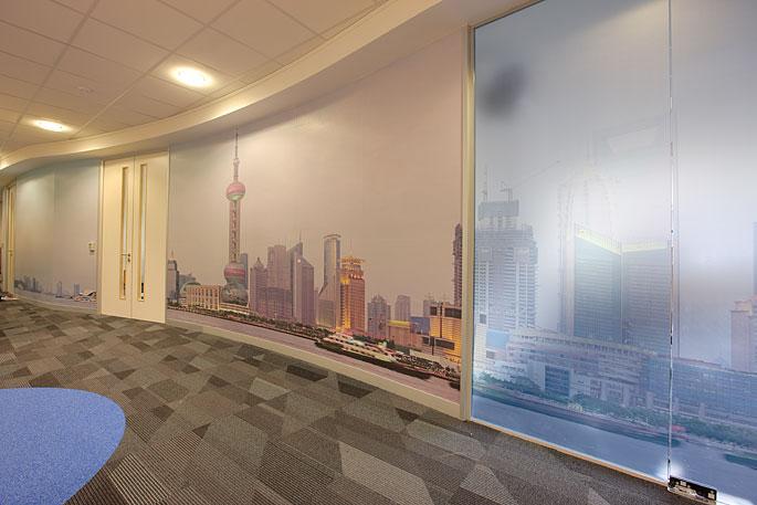 Shanghai skyline panorama in situ 3 © Will Pearson.