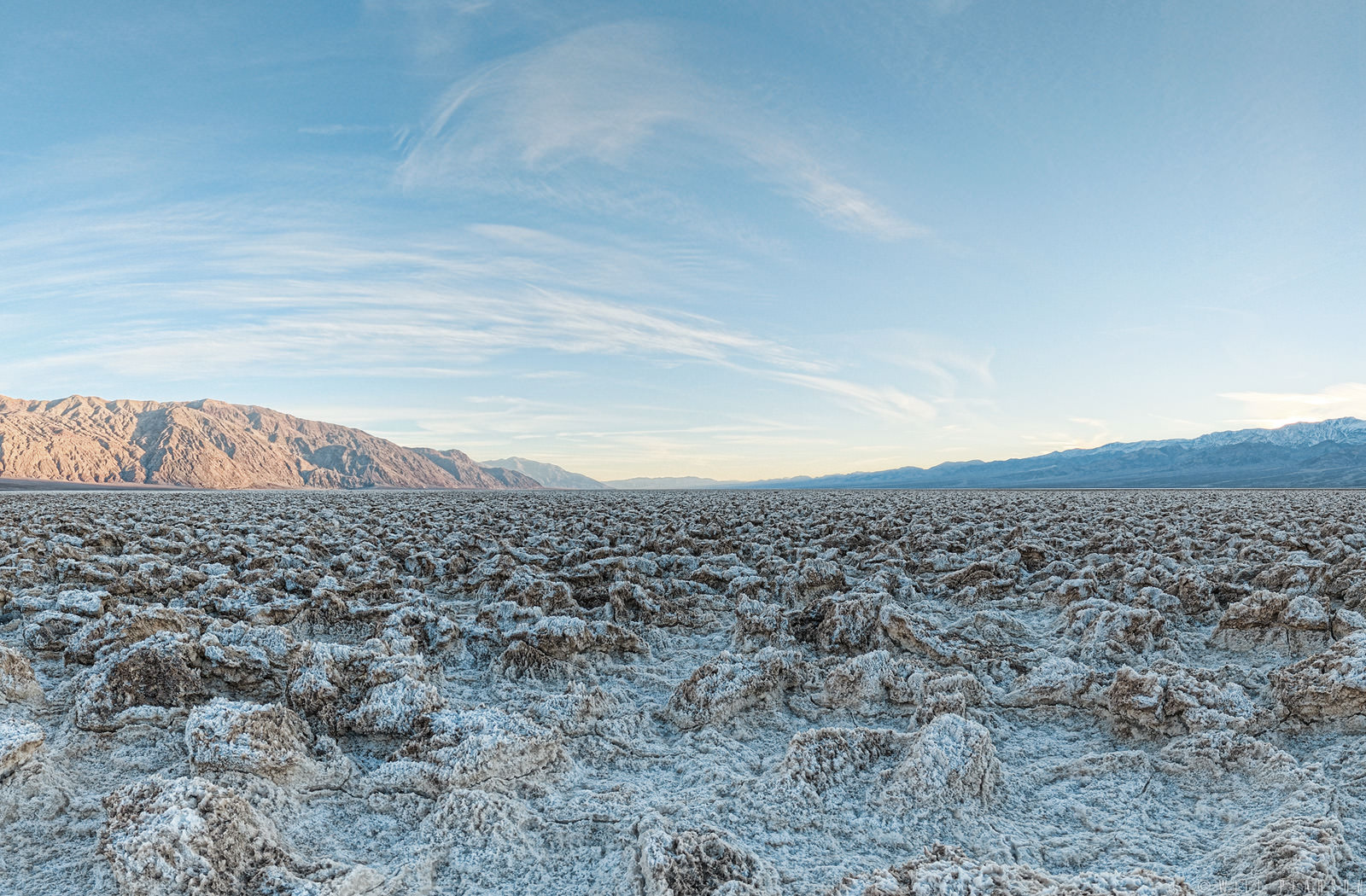 The Devil's Golf Course, Death Valley