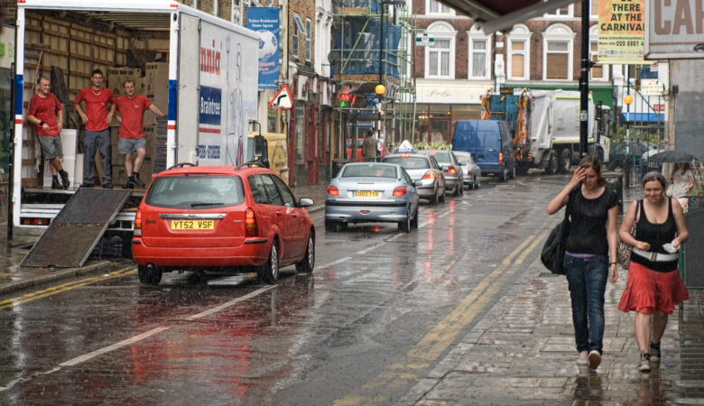 rain project crouch end