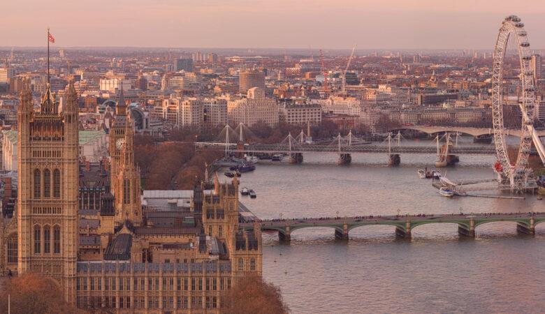 Golden Mile London Skyline Gigapixel