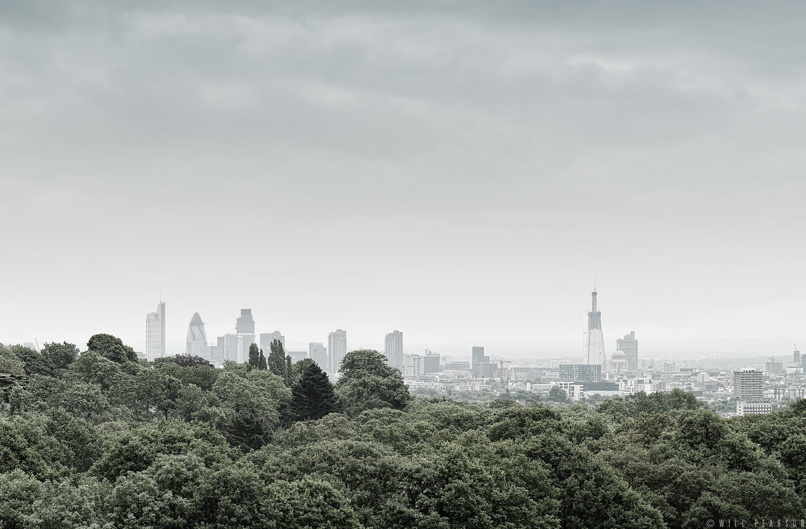 Hampstead Heath Views – London Panorama