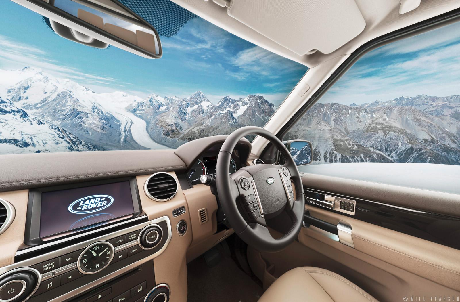 Landrover Discovery: 360 Car Interior