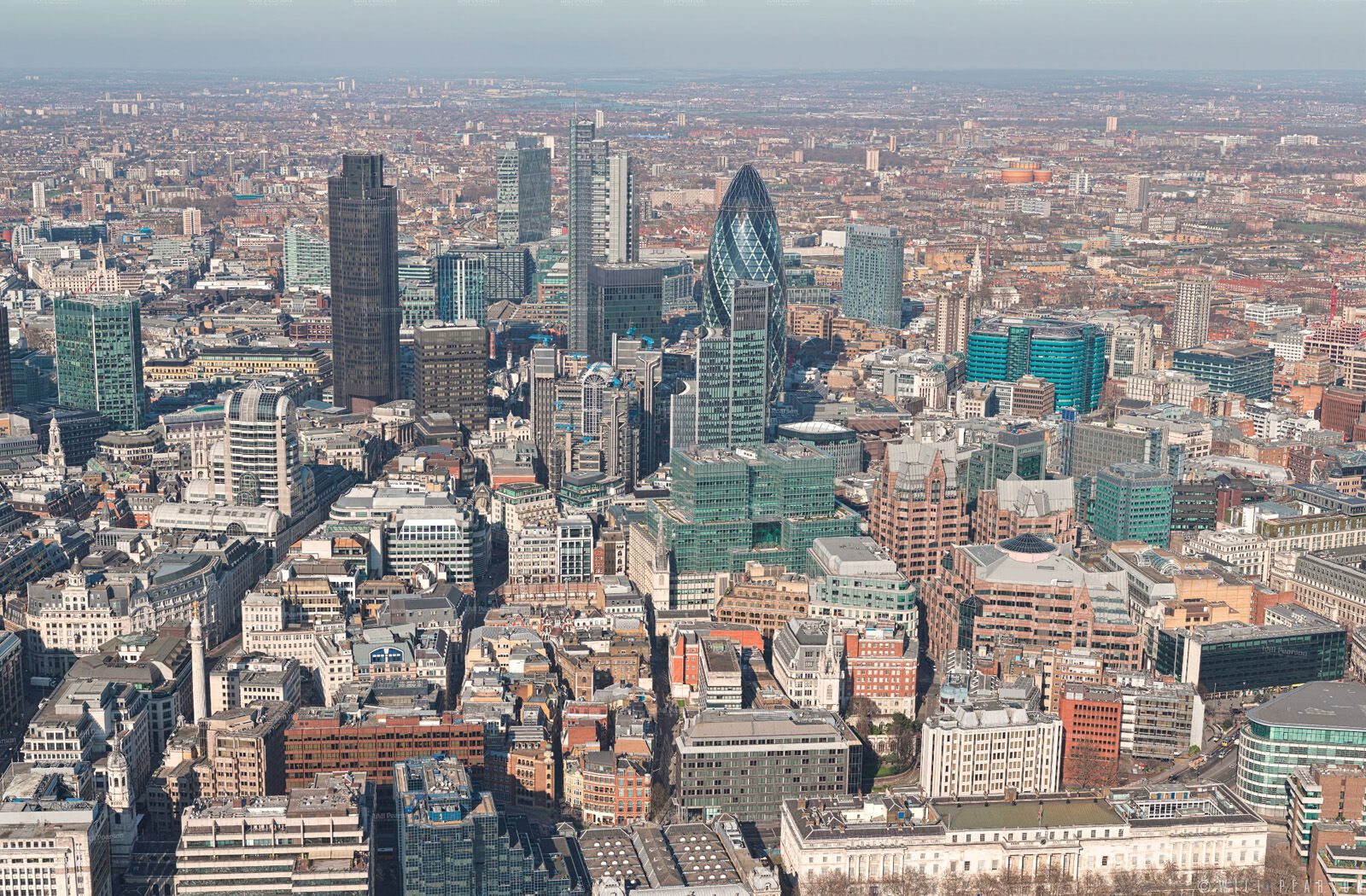 Gigapixel 360 Panorama from the Shard