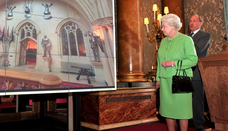 Meeting the Queen and Tim Berners Lee