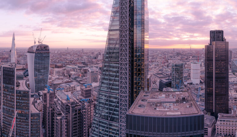 Lambent London - View from 30 St Mary Axe