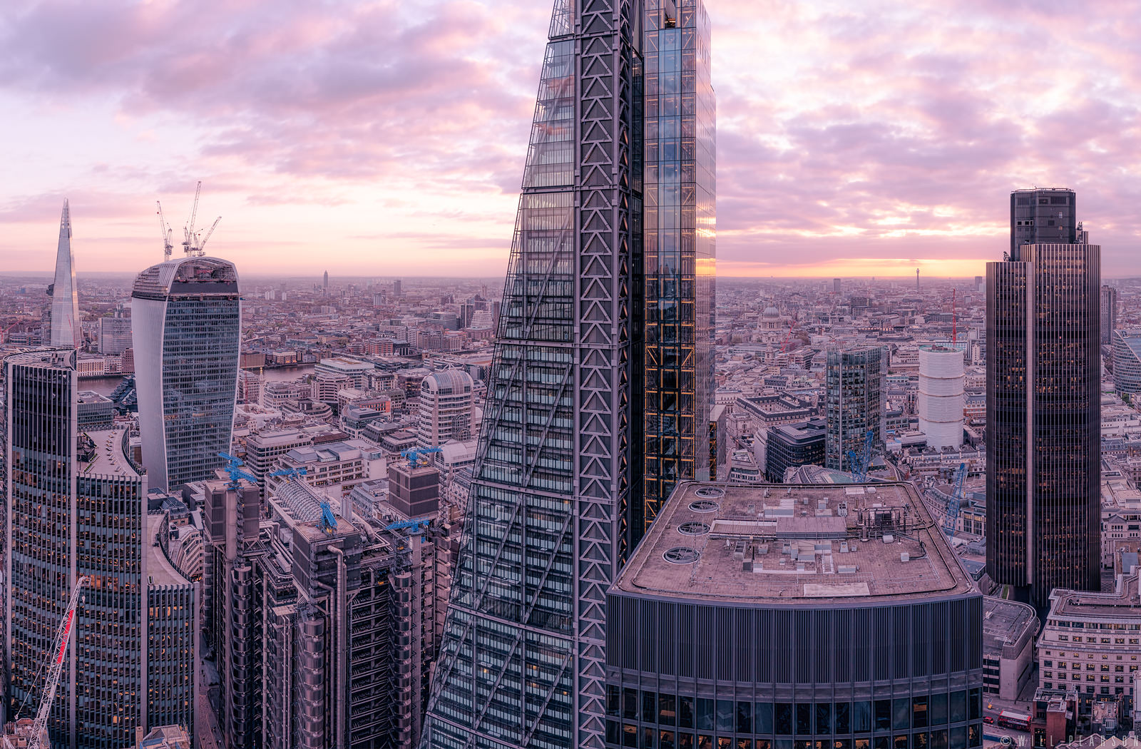 Lambent London – View From 30 St Mary Axe