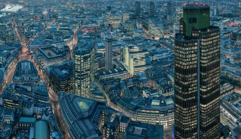 Translight Photography - London from the Leadenhall - High Resolution Cityscape