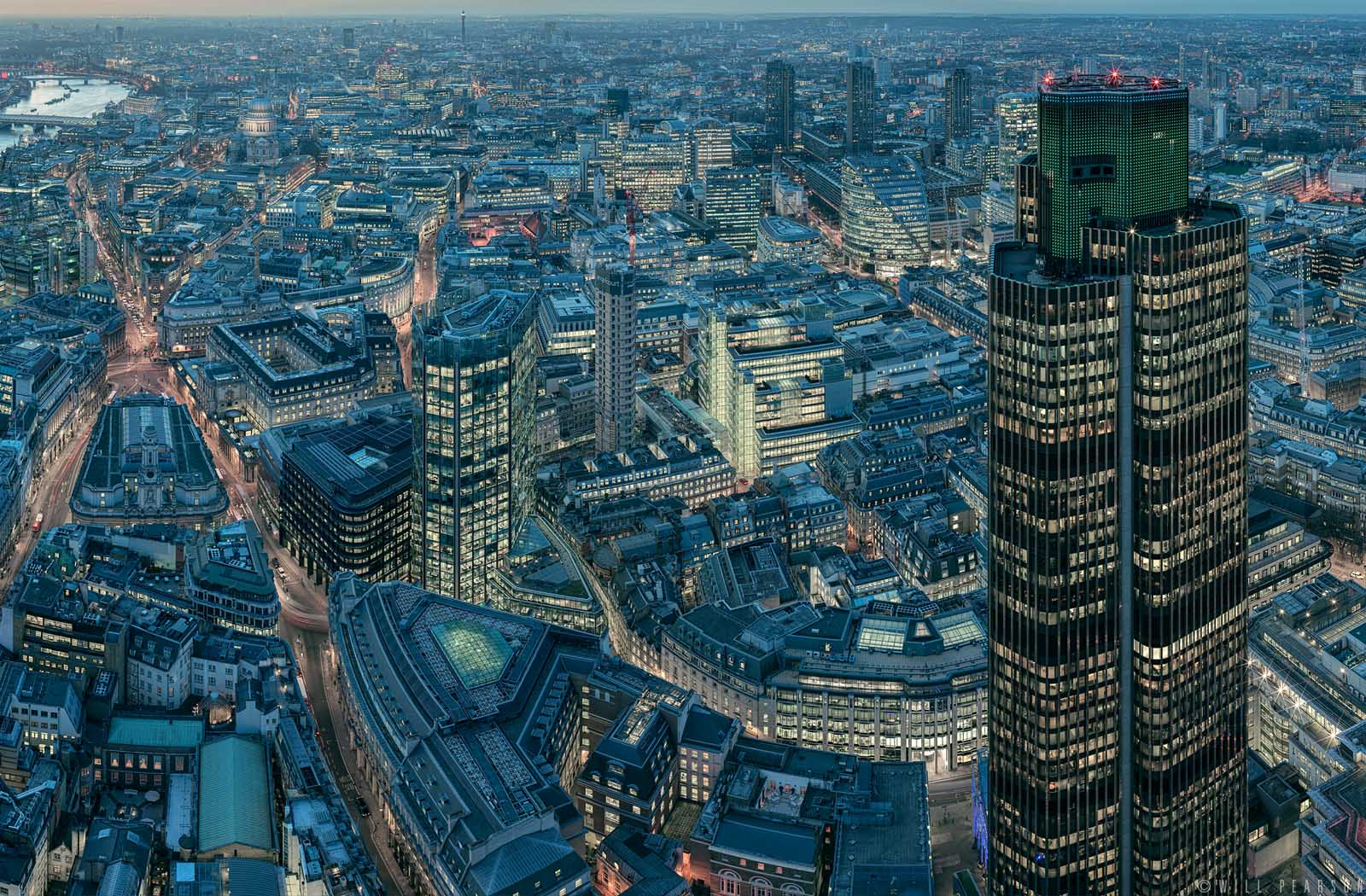 london from the leadenhall - will pearson
