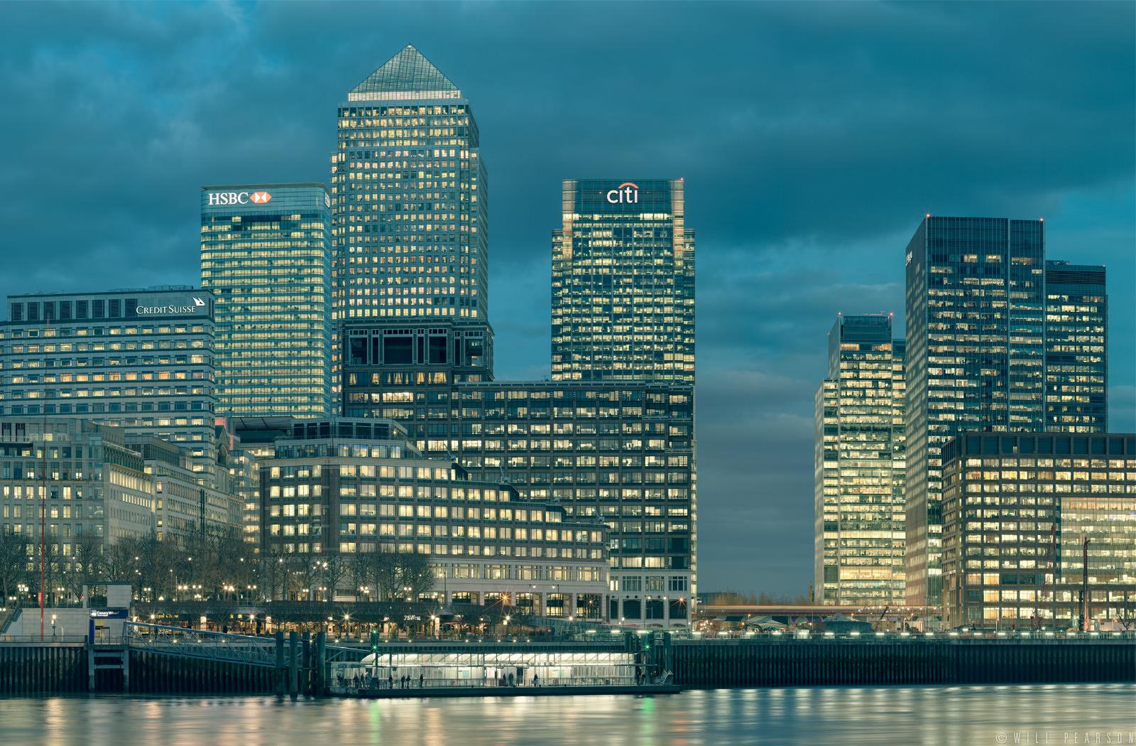 Canary Wharf Pier Will Pearson Panoramic Photographer