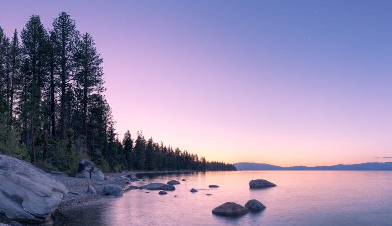 Lake Tahoe 360 - HDRI 360 Backgrounds and Backplates