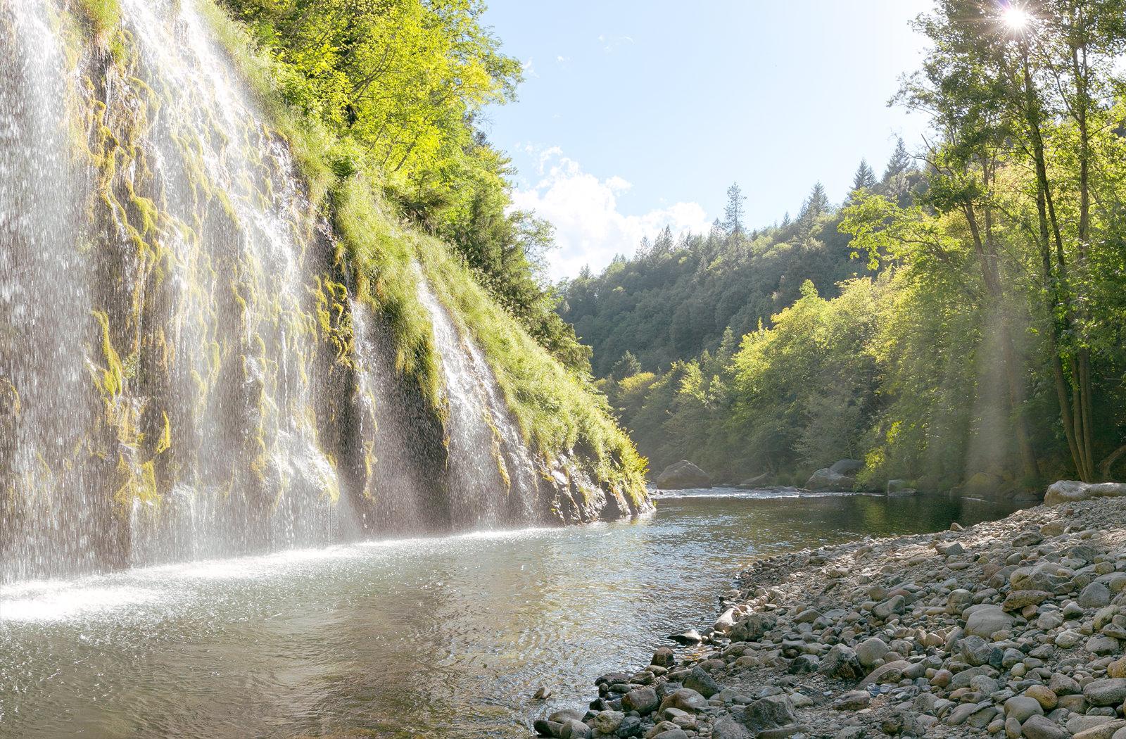 Mossbrae Falls 360