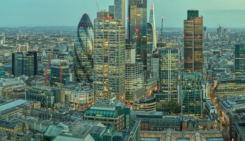 City of London Dusk | Gigapixel Cityscape