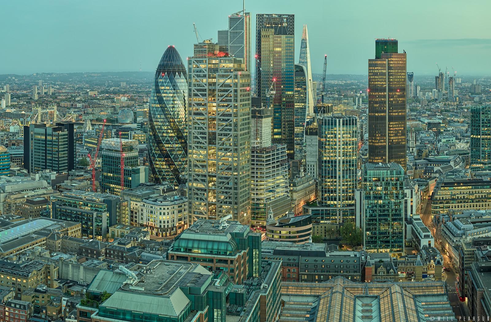 City of London Dusk