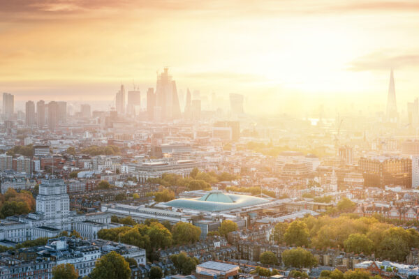 London Begins - A London Sunrise Panorama