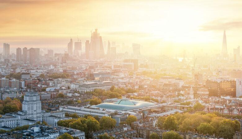 London Begins - A London Sunrise Panorama